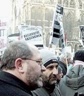 Austrian Muslim demo