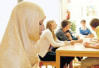 Muslima in an Austrian school