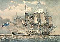 Boarding a frigate