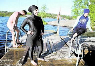 Burkinis in Sweden
