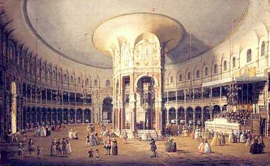 Canaletto, 'London: Interior of the Rotunda at Ranelagh', 1754