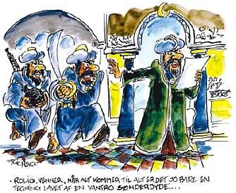 Cartoon by Franz Füchsel