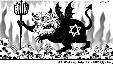 Cartoon: Israel Devil