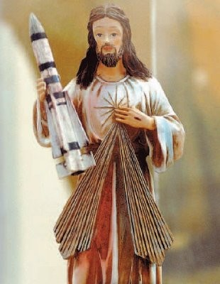 Jesus with Phoenix Missile