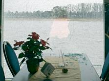 Cologne Broken Window on the Rhine ship