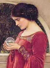 The Crystal Ball, 1902, by John William Waterhouse
