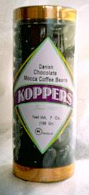 Koppers Danish Chocolate Mocha Coffee Beans