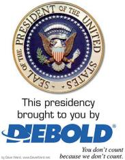 Diebold steals elections