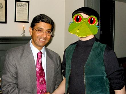 Dinesh D'Souza and the Future Baron Bodissey