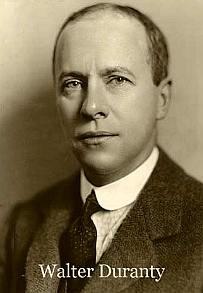 Walter Duranty