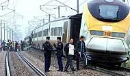 Eurostar sabotaged