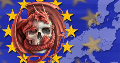EU Skull-Dragon
