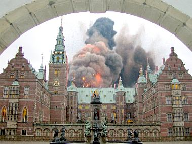 Fredensborg explodes