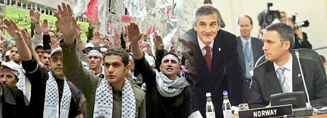 Hamas, Jonas Gahr Støre, and Jens Stoltenberg