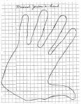 Michael Jordan's hand