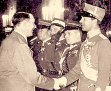 Hitler with the Swedes in 1939