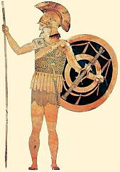 A hoplite