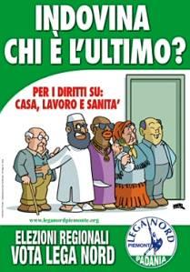 Lega Nord poster