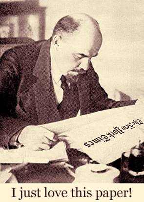 Lenin reads the NYT — shouldn't you?