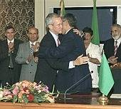 Diplomats Play Hug 'n Kiss In Tripoli
