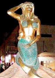 Egyptian mermaid: pretty racy, eh?