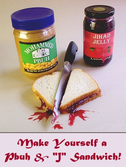 Make Yourself a Pbuh & 'J' Sandwich!