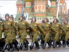 Moscow soldiers