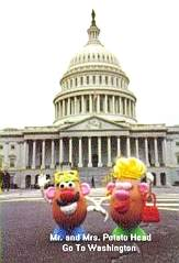 Mr. and Mrs. Potato Head Take Washington
