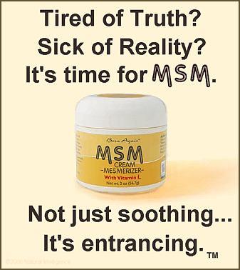 MSM Cream Mesmerizer