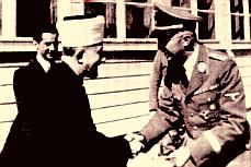 The Mufti of Jerusalem with Himmler