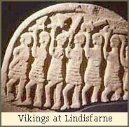 Vikings at Lindisfarne