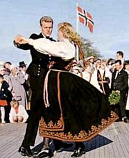 Traditional Norwegian costume
