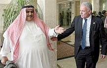 Khaled bin Ahmad al-Khalifa and Riyad al-Maliki