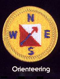 Orienteering Badge, BSA