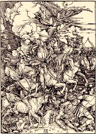 The Four Horsemen, by Albrecht Dürer