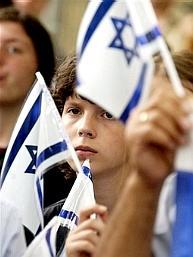 Pro-Israel demonstration in Warsaw