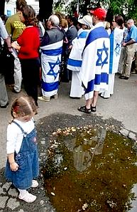 Pro-Israel demonstration in Warsaw