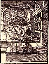 18th century printing press