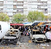 Aftermath of riots in France