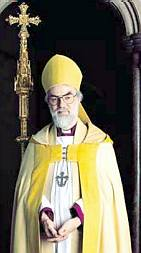 Dr. Rowan Williams, the Archbishop of Canterbury