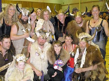 Sarah Palin with Vikings