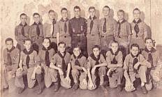 Boy Scout Troop 6, First Presbyterian Church,ca 1945
