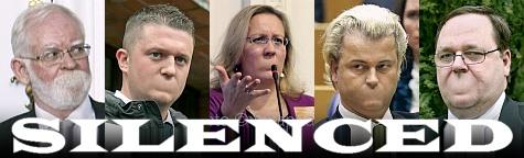 Silenced: Lars Hedegaard, Tommy Robinson, Elisabeth Sabaditsch-Wolff, Geert Wilders, Dahn Pettersson