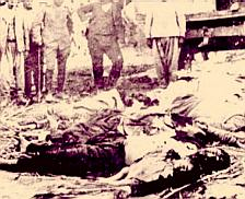 Massacre victims at Smyrna