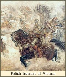 Polish hussars at Vienna