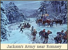 Jackson&#8217;s Army near Romney