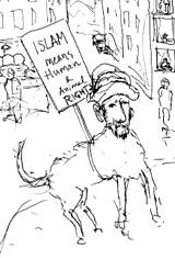 The Prophet as a Rondellhund demonstrator