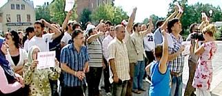 Muslim demonstration