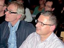 Lars Vilks and Flemming Rose