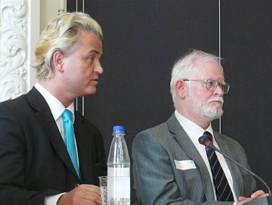 Geert Wilders and Lars Hedegaard